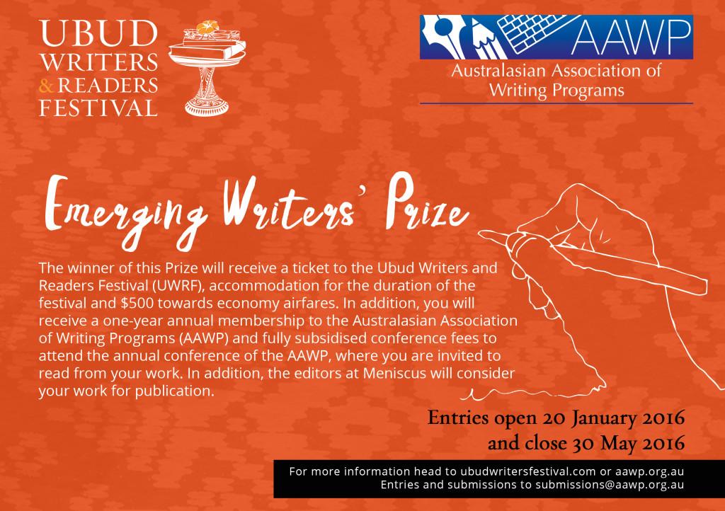 AAWP UWRF Emerging Writer%27 Prize